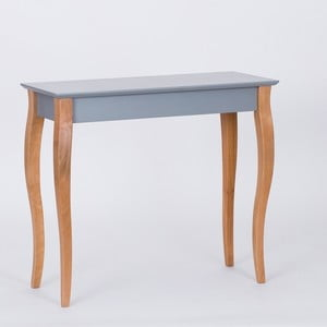 Tmavě šedý odkládací stolek Ragaba Console,délka85cm