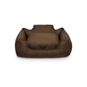 Hnědý pelíšek pro psy Marendog Orbit Premium