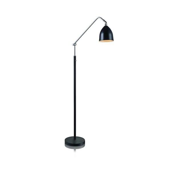 Černá stojací lampa Markslöjd Fredrikshamn