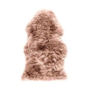 Hnědorůžová ovčí kožešina Royal Dream Sheep,120x60cm