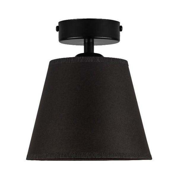 IRO Parchment fekete mennyezeti lámpa, ⌀ 16 cm - Sotto Luce