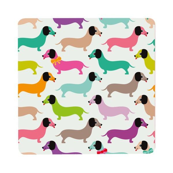 Stolek Daschshunds In Colours