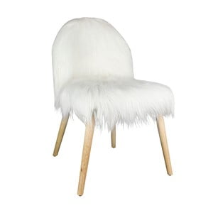 Židle s umělou kožešinou Le Studio Hygge