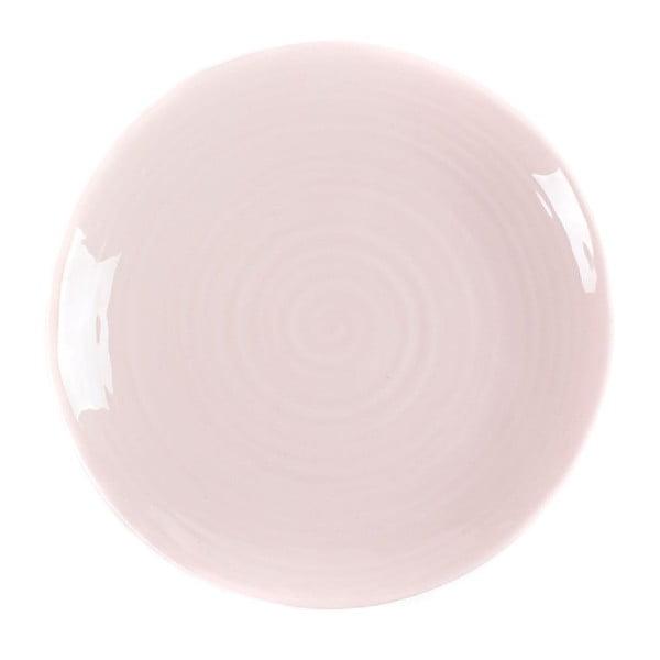 Talíř Earth 27 cm, růžový