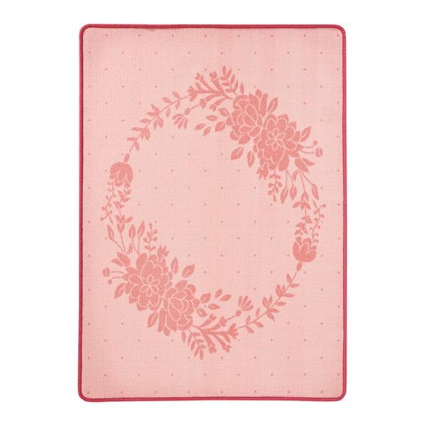Blossom rózsaszín gyerekszőnyeg, 100 x 140 cm - Zala Living