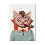 Plakát Eclectic Cat, 30x42 cm
