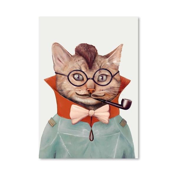 Plakát Eclectic Cat, 42x60 cm