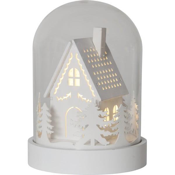 LED světelná dekorace Best Season Kupol House, výška 17,5 cm