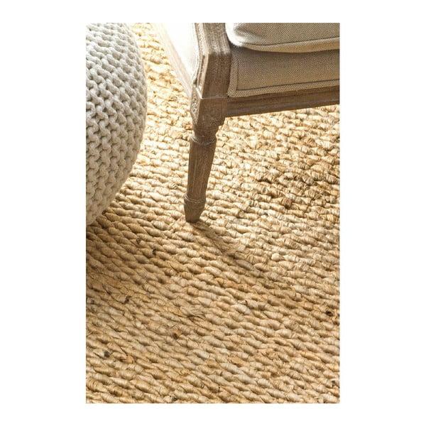 Ručně tkaný koberec nuLOOM Fluffy Natural, 152x244cm