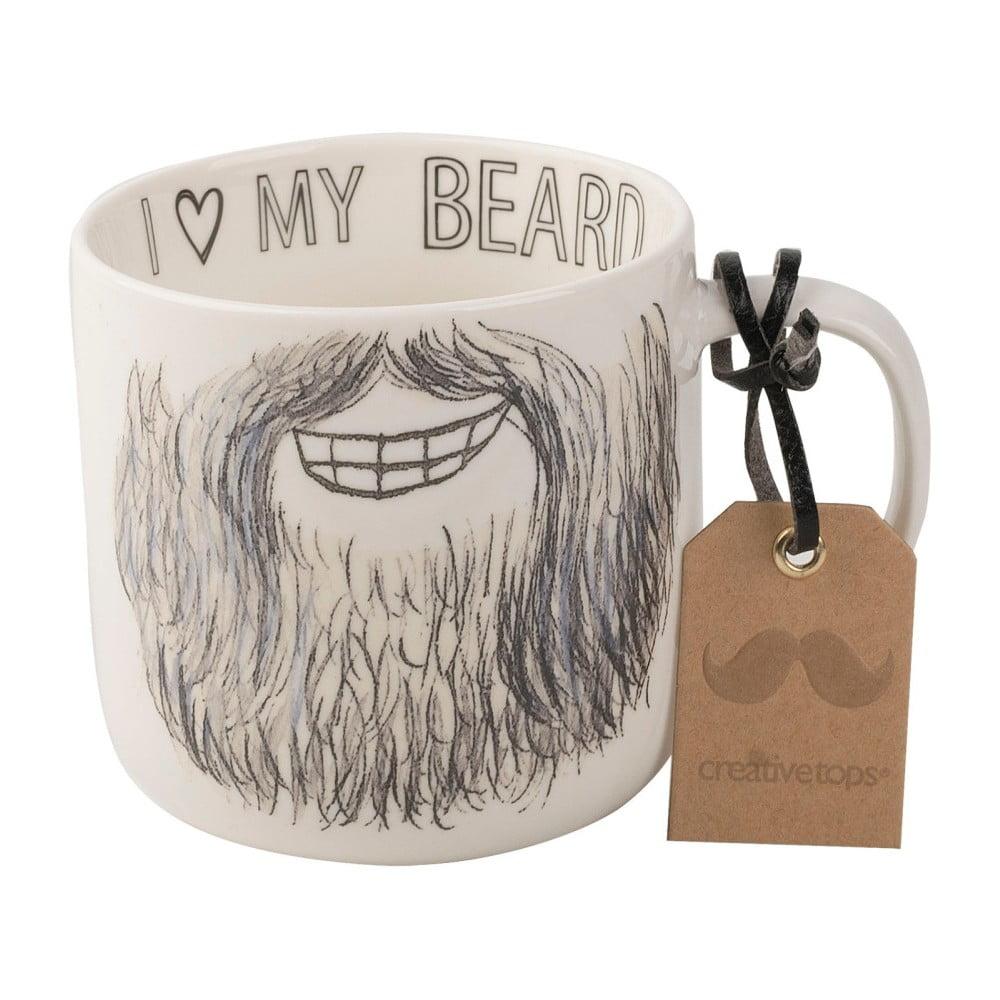 Porcelánový hrnek Creative Tops Core Beard Mug, 450 ml