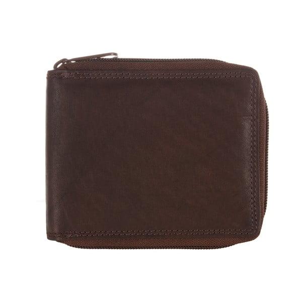 Pánská kožená peněženka Two-Tone Brown Finest Natural