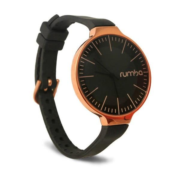 Dámské černé hodinky Rumbatime Orchard