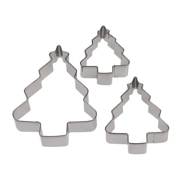 Set 3 forme pentru tăiat aluat Rex London Tree