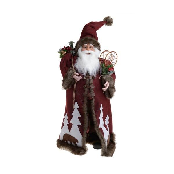 Vánoční látková dekorace ve tvaru Santy InArt Farry