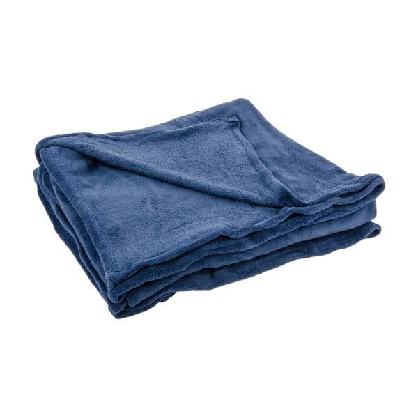 Přehoz na postel Sherpa Blue, 240x260 cm