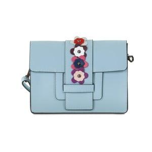 Světle modrá kožená kabelka Infinitif Rosie
