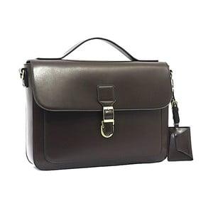 Elegantní taška přes rameno Bobby Black - kávová