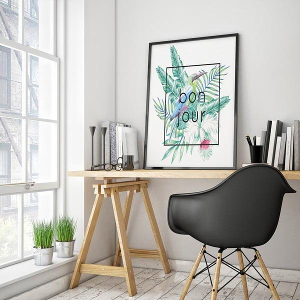 Plakát Bonjour, 30 x 40 cm