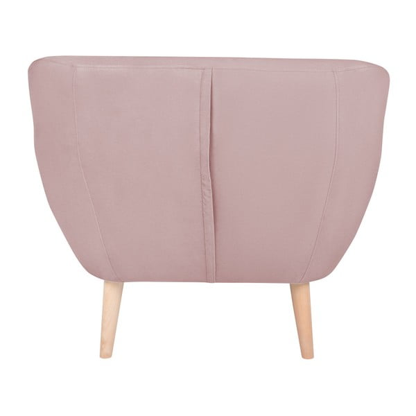 Růžové křeslo BSL Concept Eleven