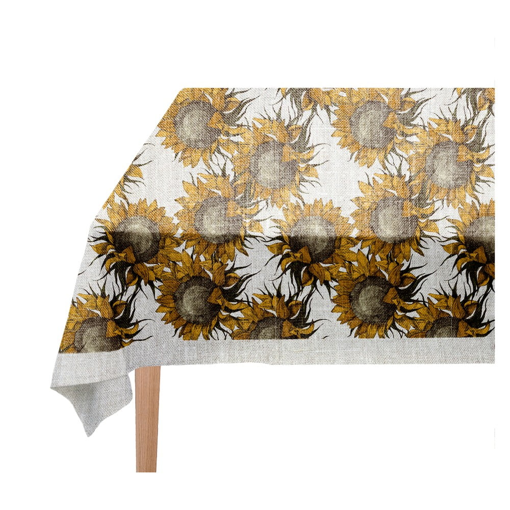 Ubrus Linen Couture Sunflower 140 x 140 cm