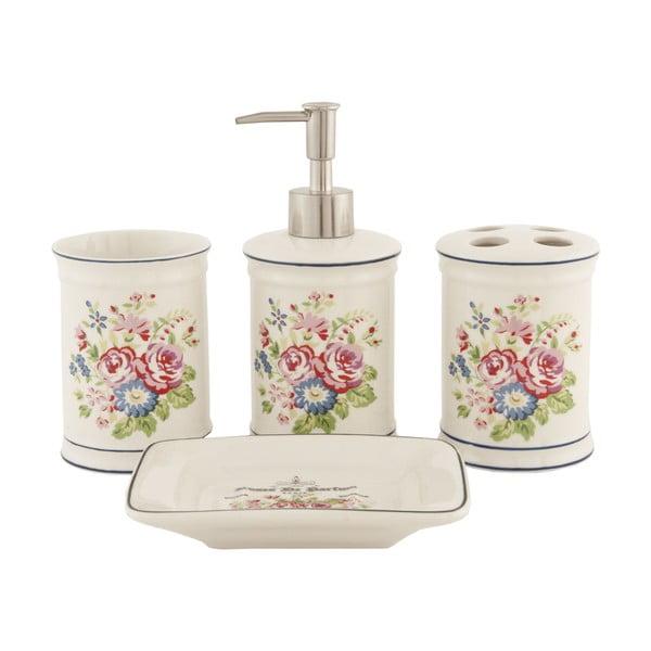 Koupelnový set Floral (4 ks)