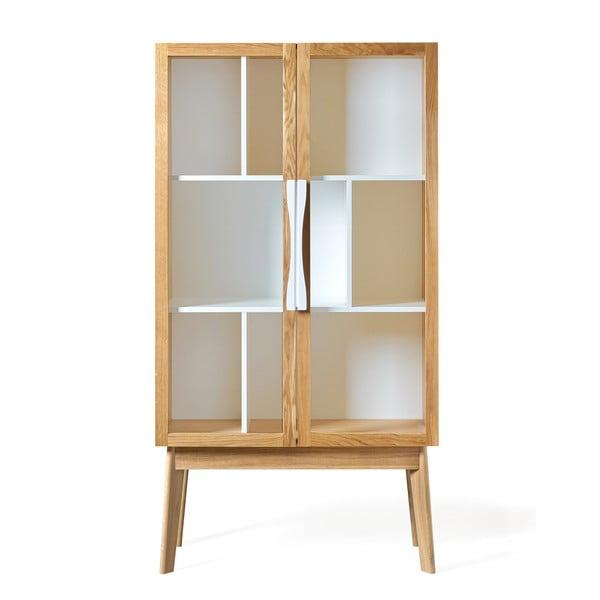 Avon fehér könyvszekrény/tálalószekrény - Woodman