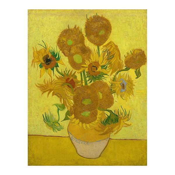 Obraz Vincenta van Gogha - Sunflowers, 60x45 cm