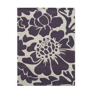 Vlněný koberec Elin Lilac, 140x200 cm