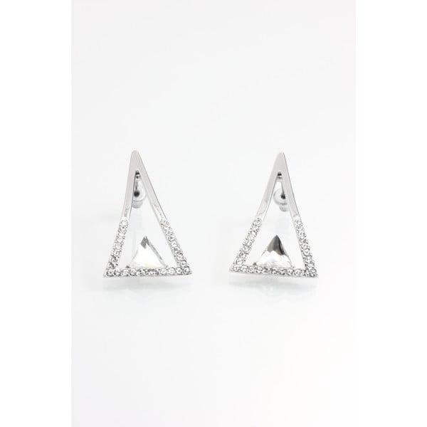 Náušnice se Swarovski krystaly Yasmine Triangle