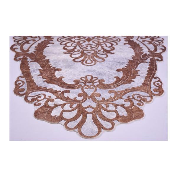 Odolný koberec Vitaus Huniyo Kahve, 80 x 150 cm