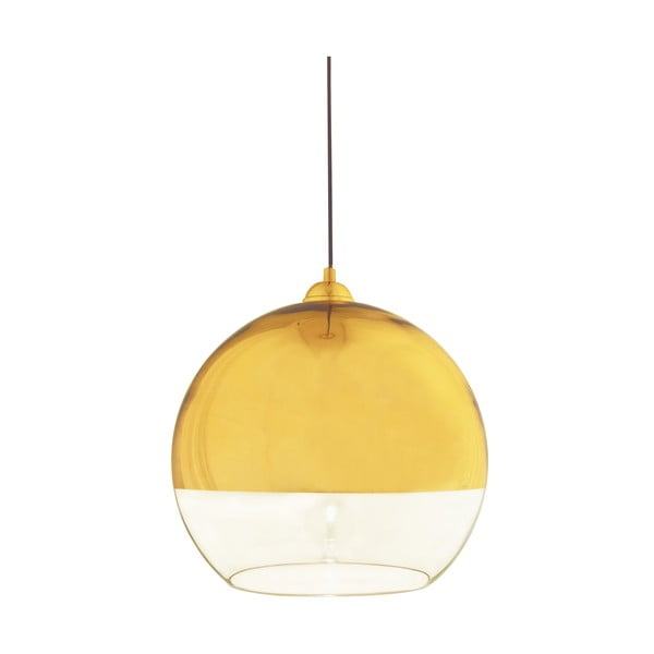Závěsné svítidlo Scan Lamps Lux Gold, ⌀35 cm