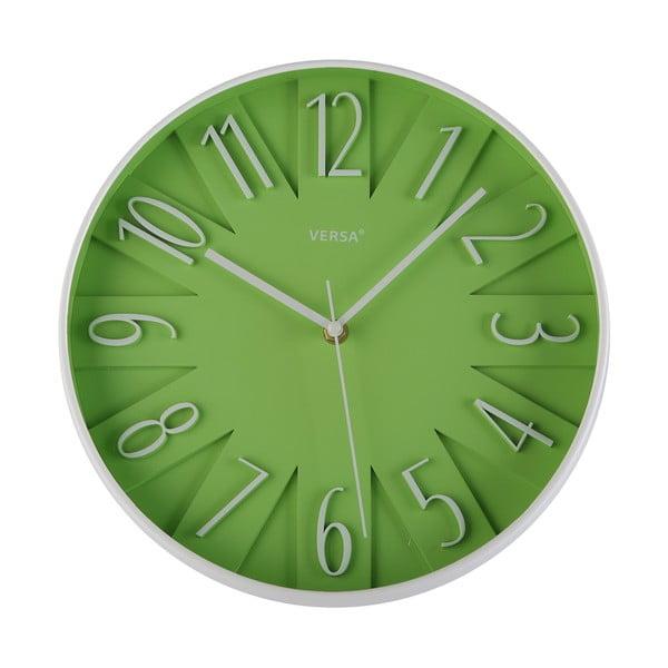 Nástěnné hodiny Versa Lime, 30 cm