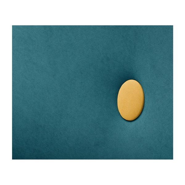 Tyrkysově modrá trojmístná pohovka Scandi by Stella Cadente Maison