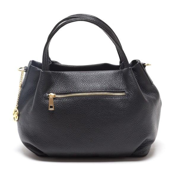Kožená kabelka Giada, černá