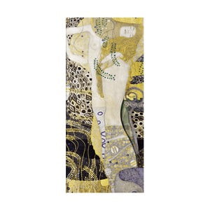 Reproducere tablou Gustav Klimt - Water Serpents, 70 x 30 cm