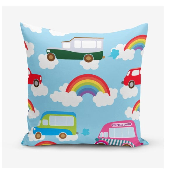 Față de pernă Minimalist Cushion Covers Rainbow, 45 x 45 cm