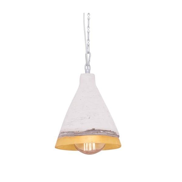 Závěsné světlo s mramorovým stínítkem Flash, 17 cm