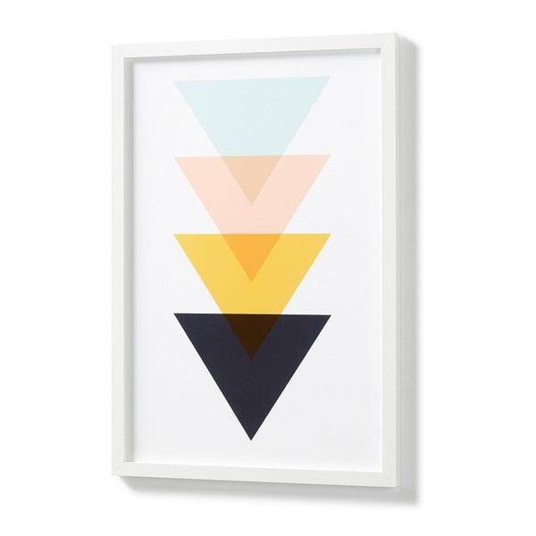 Blanks fali kép, fehér keretben - La forma