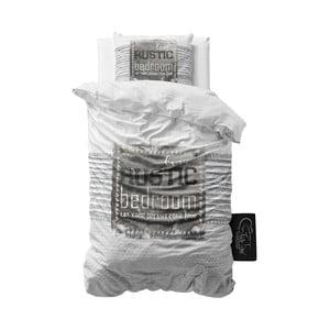 Povlečení z mikroperkálu Sleeptime Rustic, 140x220cm