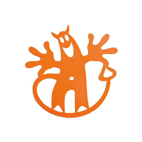 HELL-O tepluvzdorná podložka, oranžová