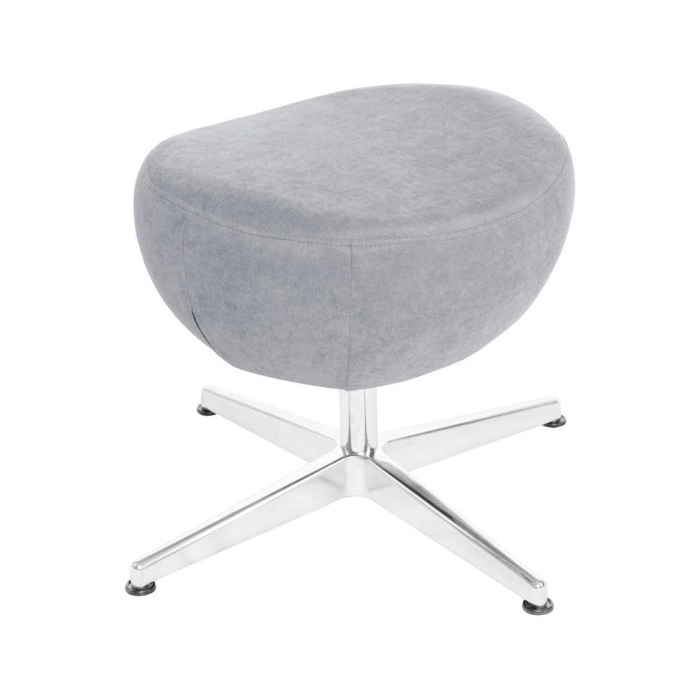 ef12abdf38ad Světle modrá otočná stolička podnožka My Pop Design Vostell