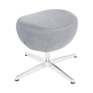 Světle modrá otočná stolička/podnožka My Pop Design Vostell