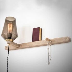 Nástěnné světlo a věšák v jednom Stick Large