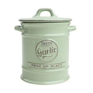 Recipient ceramic pentru usturoi T&G Woodware Pride of Place, verde