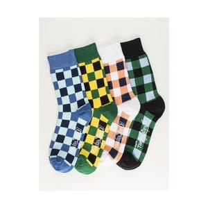 Sada 4 párů unisex ponožek Funky Steps Luce, velikost39/45