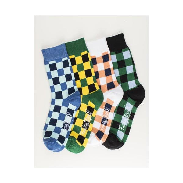 Čtyři páry ponožek Funky Steps Luce, univerzální velikost