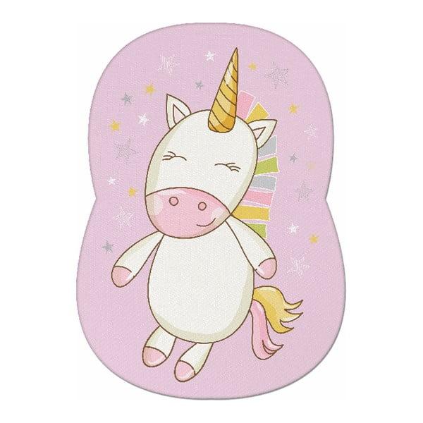 Dětský polštářek s příměsí bavlny Apolena Pillow Toy Unicorn II, 24 x 36 cm