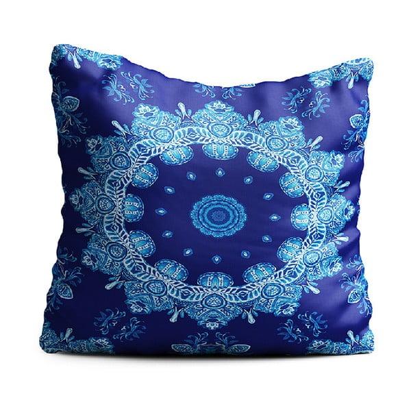 Niebieska poduszka Oyo home Zelda, 40x40 cm