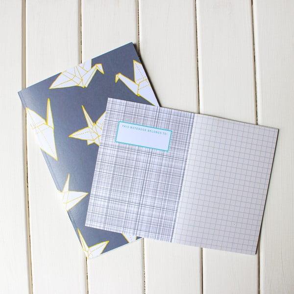 Zápisník Cranes A6