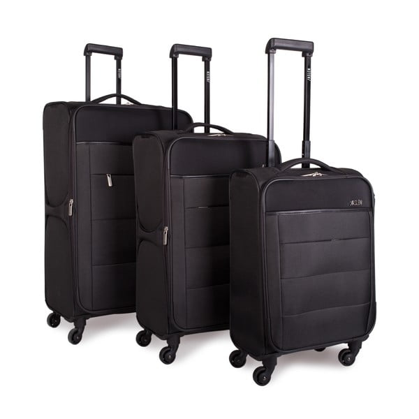 Sada 3 kufrů Jaslen, tmavě šedá